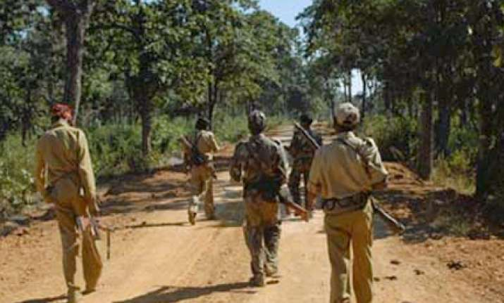bjp mp s sons shot by maoists in chhattisgarh