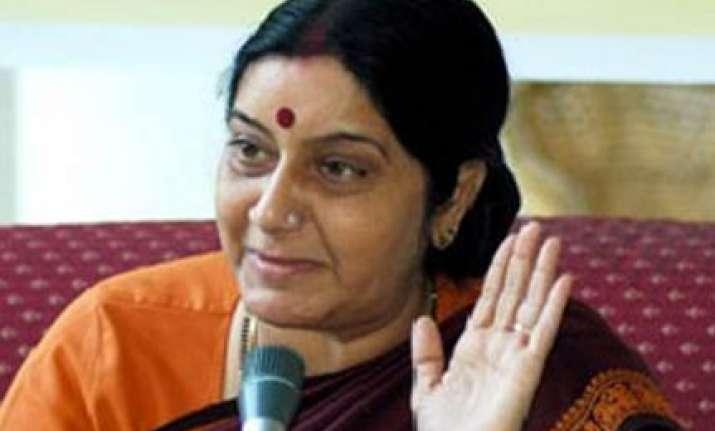 i was misquoted swaraj on modi issue