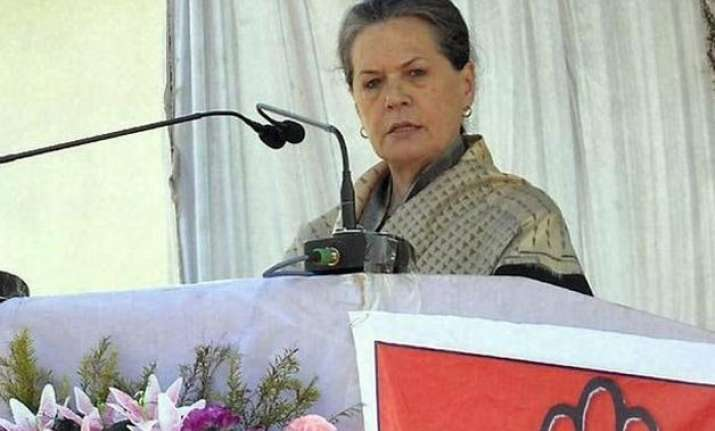 bihar polls sonia gandhi to address 2 election rallies today