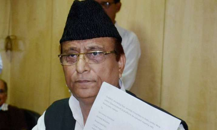 azam khan seeks un intervention into miseries of minorities