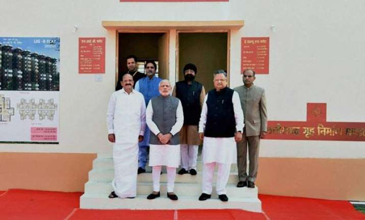 five crore houses to be built for the poor by 2022 pm modi