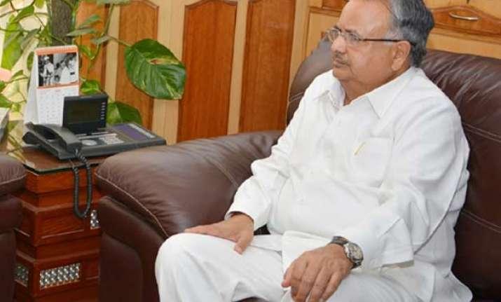 congress demands chhattisgarh cm raman singh s resignation