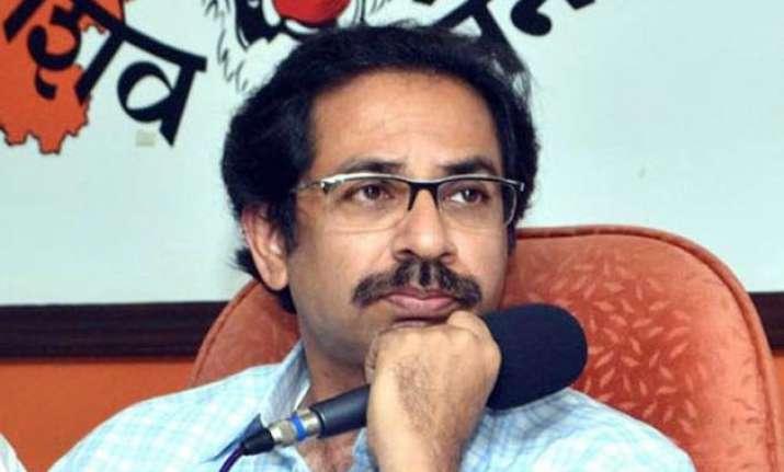 shiv sena was not born for power uddhav thackeray