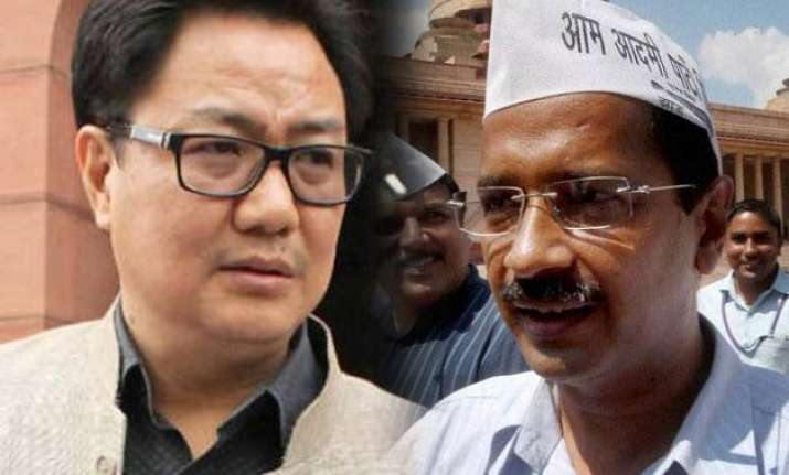 don t divide indians between north south kejriwal tells