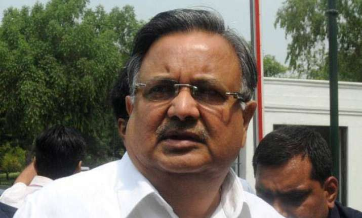 chhattisgarh cm used choppers hired for anti naxal