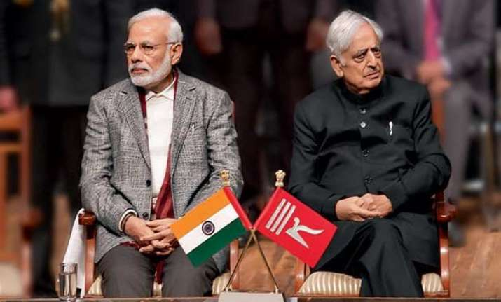 shiv sena asks bjp to withdraw support from pdp