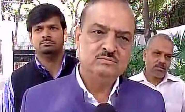 watch video bjp mla o p sharma thrashes cpi leader terms it