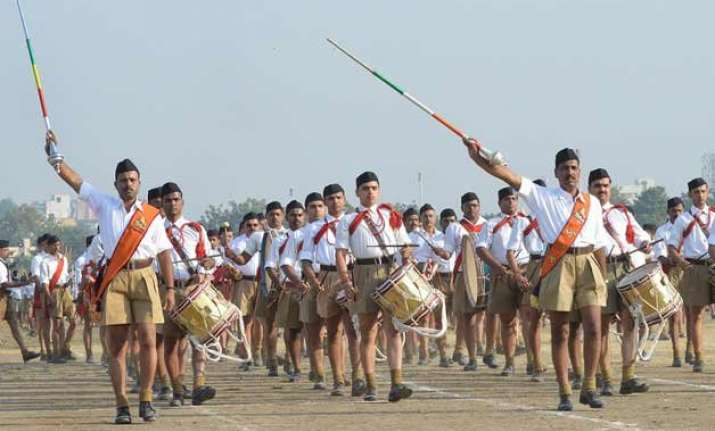 govt staffs can join rss says chhattigarh government