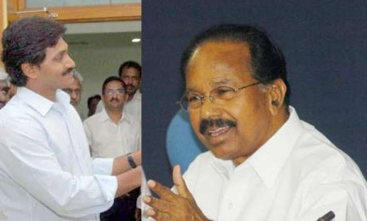 jagan issue domestic affair of cong says moily
