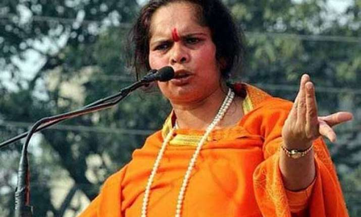 opposition gives privilege notice against sadhvi prachi