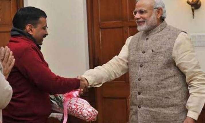 pm modi wishes delhi cm kejriwal on birthday