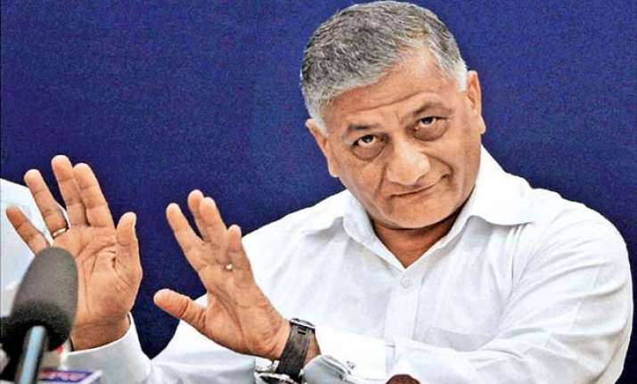 vk singh becomes butt of sarcasm in lok sabha over age issue