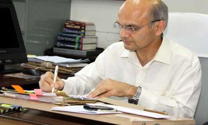 k k sharma to be the next chief secretary of delhi