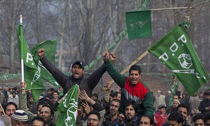 pdp bjp to rule kashmir with sayeed as cm