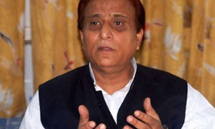 azam khan seeks ban on cow slaughter