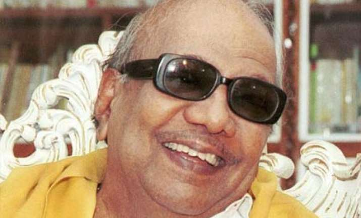 dmk not against hindi as a language says karunanidhi