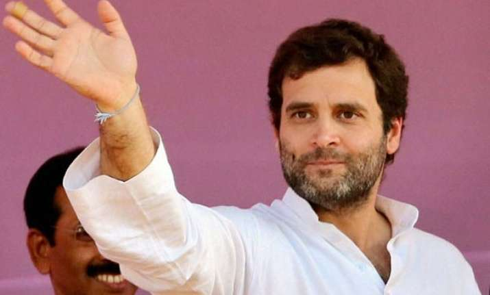 rahul gandhi in amethi on a two day visit