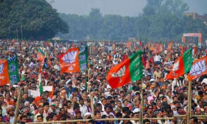 bjp leads the list of tainted candidates in upcoming delhi