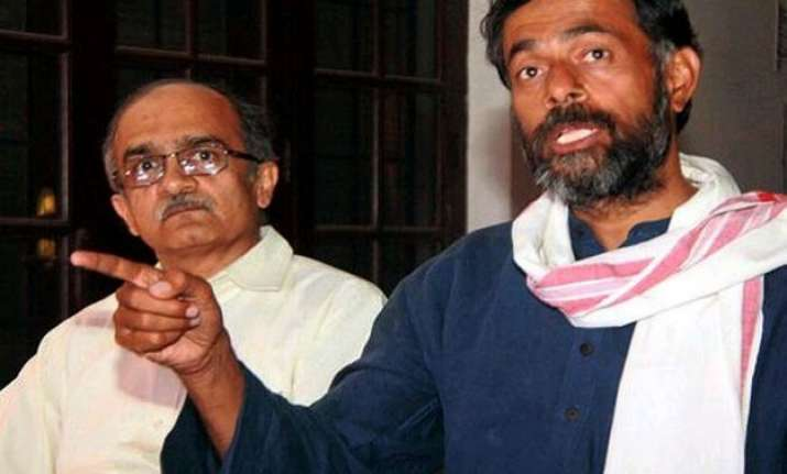 bhushan yadav seek meeting with kejriwal to end aap row