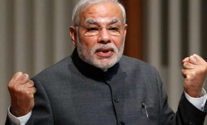 pm narendra modi expresses joy over india s re election to