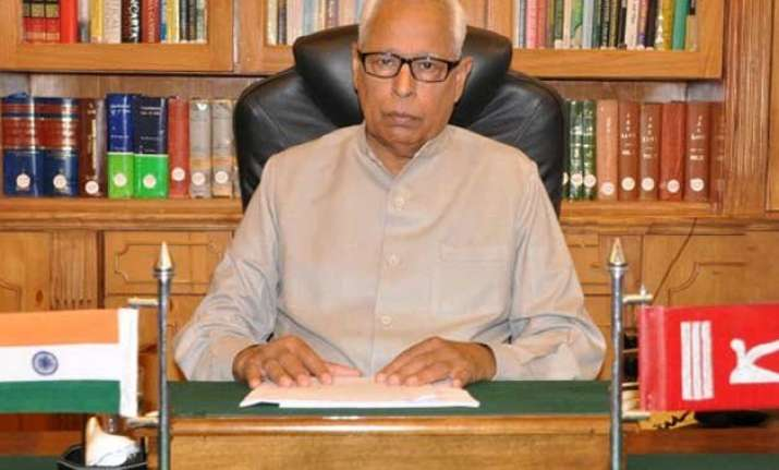 jammu and kashmir inching towards governor s rule