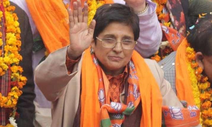 delhi polls bjp s kiran bedi recalls her tenure as dcp west