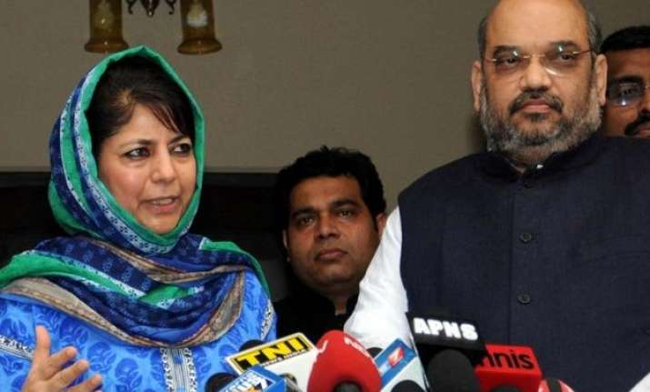 j k pdp wants assurance from pm modi on agenda of alliance