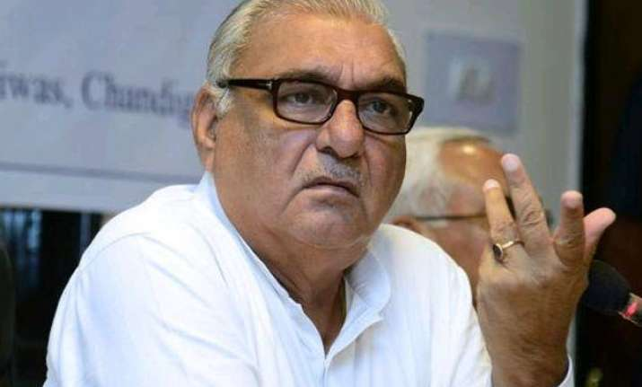 no question of quitting congress says hooda