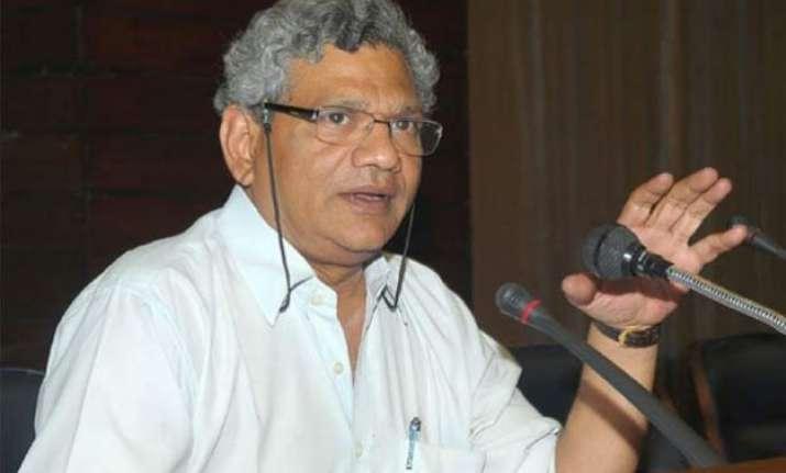 sitaram yechury demands fresh municipal elections in west