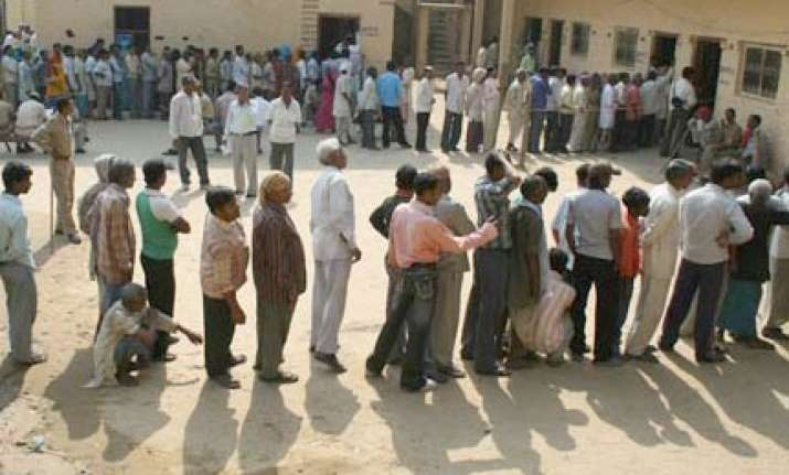 52 per cent polling in jharkhand
