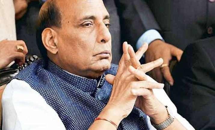 naxals obstacle to development rajnath singh