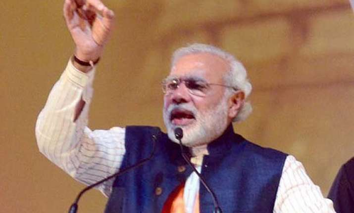on campaign trail modi hits back at rivals over pakistan