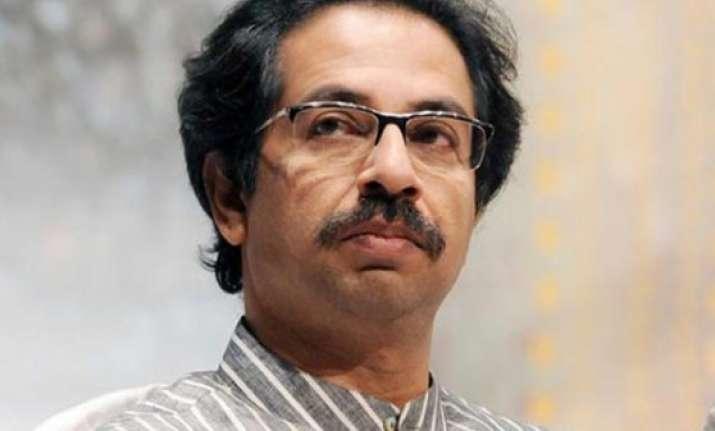 maharashtra polls shiv sena takes a jibe on narendra modi s