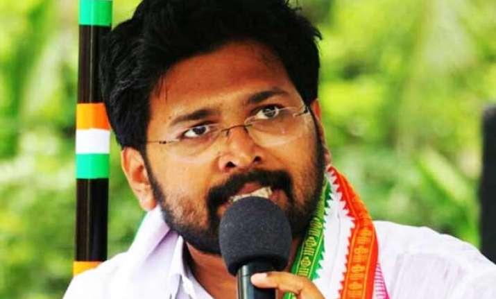 sabarinathan sworn in as kerala legislator