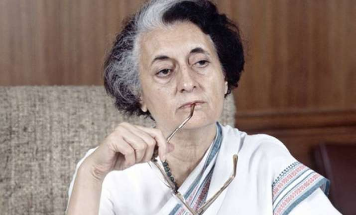 indira gandhi s rule was worse than british says bihar govt