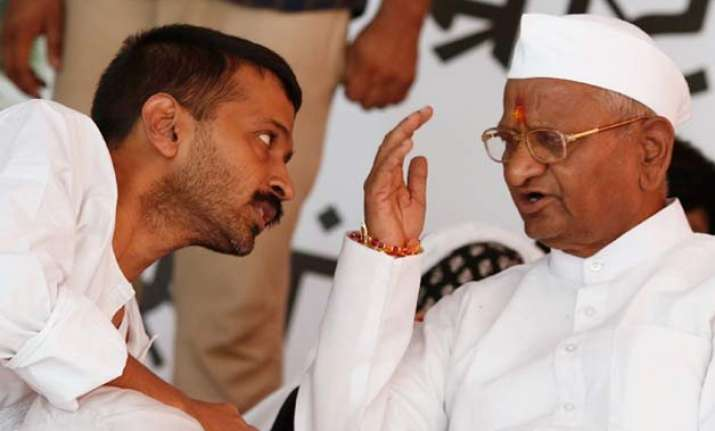 arvind kejriwal to join anna hazare s protest against land