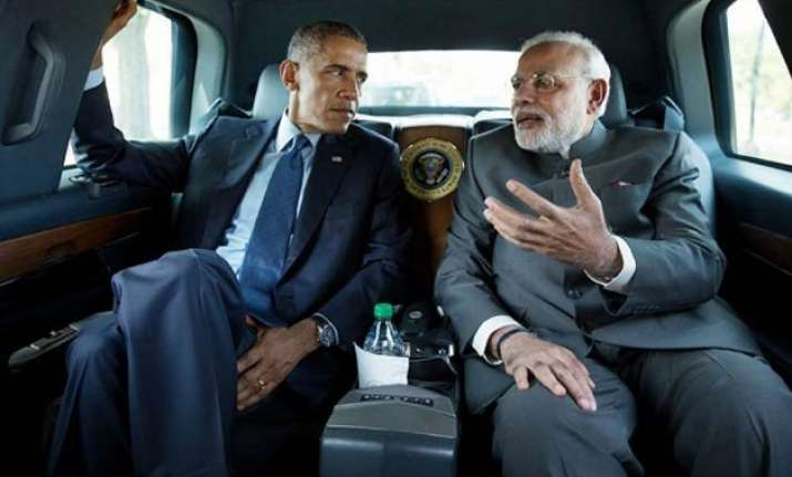 highlights what barack obama wrote for narendra modi in time