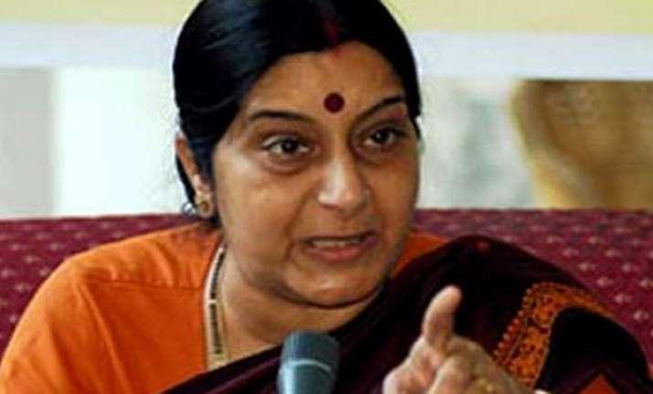 rohith vemula was not a dalit says sushma swaraj