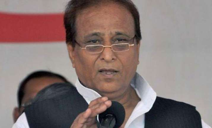 pm remains on tours ignores common man s hardships azam khan