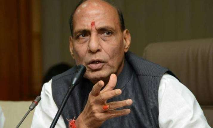 rajnath singh assures of central assistance to quake hit