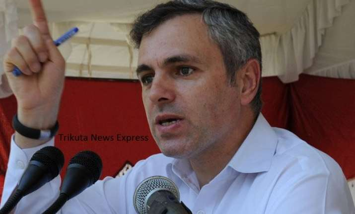 omar abdullah hits out at pm modi for silence on ceasefire