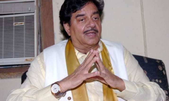bjp is my first and last party says shatrughan sinha