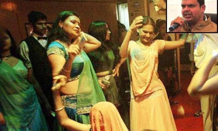 maharashtra govt in favour of ban on dance bars cm devendra