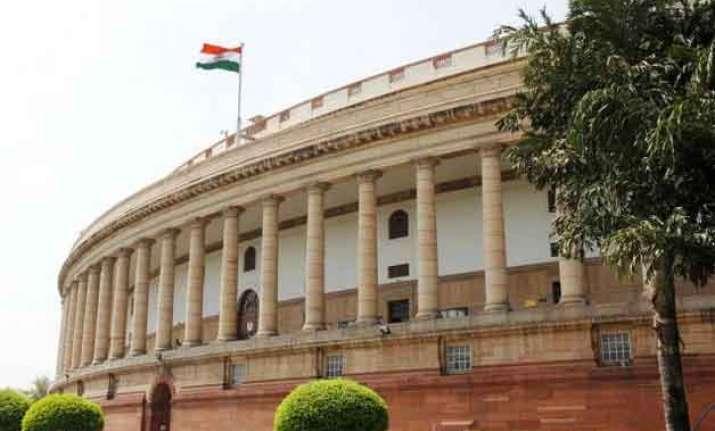 govt embarrassed in lok sabha opposition forces deferment