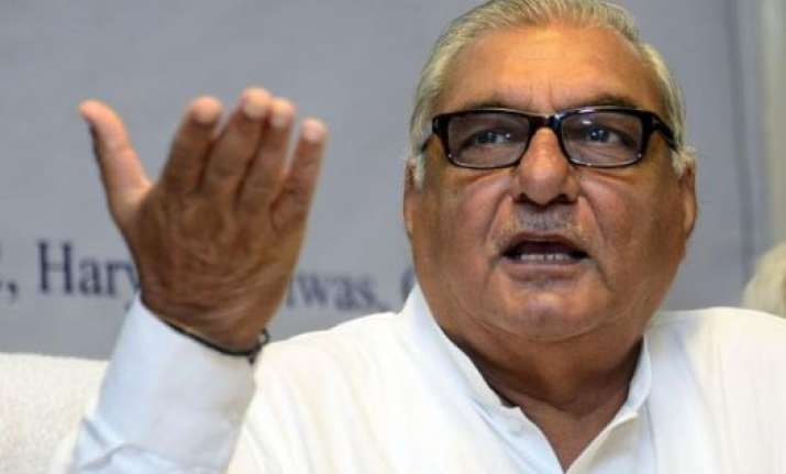 chautala can only form cabinet of prisoners says hooda