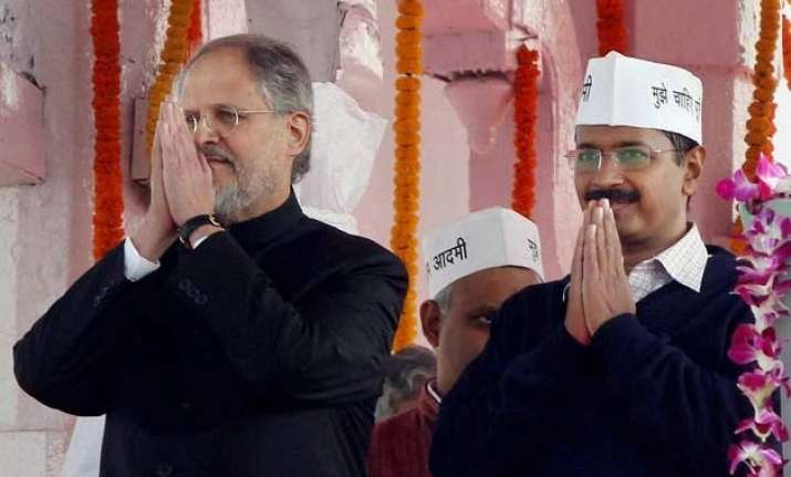 delhi lg annulled the power of kejriwal s appointee