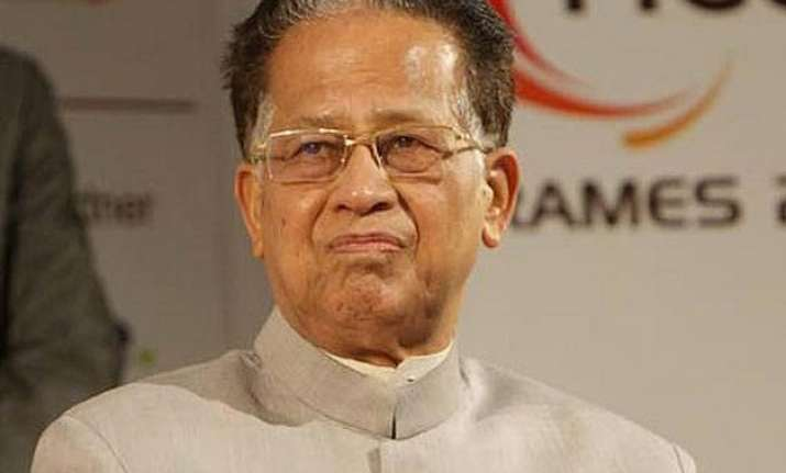 tarun gogoi thanks narendra modi for re inclusion of assam