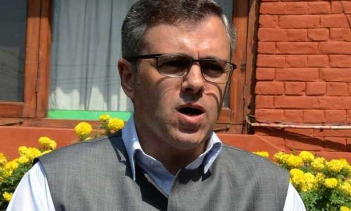 bjp hits out at omar for his remarks on alliance