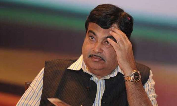 nitin gadkari at the centre of a storm over yacht ride