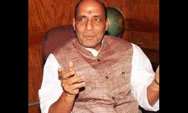 upa should now begin process for separate telangana rajnath